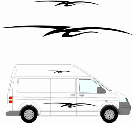 (No.161) MOTORHOME GRAPHICS STICKERS DECALS CAMPER VAN CARAVAN UNIVERSAL FITTING